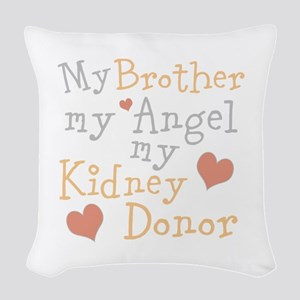 Personalize Kidney Donor Woven Throw Pillow