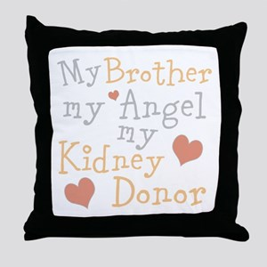 Personalize Kidney Donor Throw Pillow