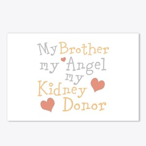 Personalize Kidney Donor Postcards (Package of 8)