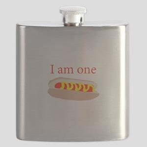 I am one hot dog Flask
