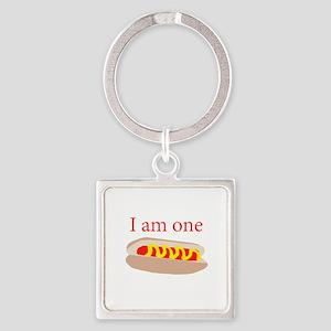 I am one hot dog Keychains