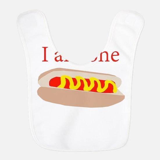 I am one hot dog Bib