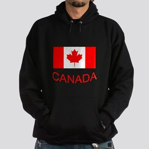 Canada flag and country name. Canada Day. Hoodie
