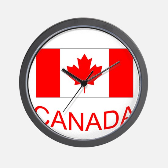 Canada flag and country name. Canada Day. Wall Clo