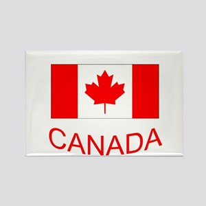 Canada flag and country name. Canada Day. Magnets