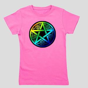 Pentagram of Pride Girl's Tee