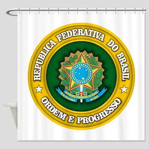 Brazil Medallion Shower Curtain