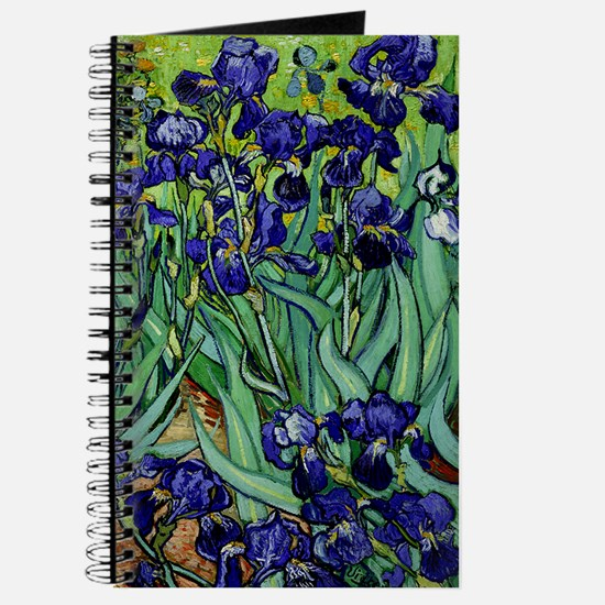 van gogh irises, st. remy Journal