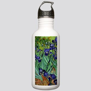 van gogh irises, st. remy Water Bottle