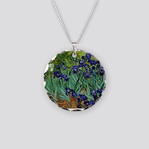 van gogh irises, st. remy Necklace