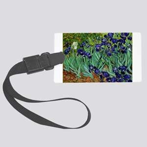 van gogh irises, st. remy Luggage Tag