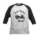 Just Gotta Scoot Silverwing Kids Baseball Jersey