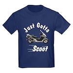 Just Gotta Scoot Silverwing Kids Dark T-Shirt