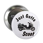 Just Gotta Scoot Silverwing Button