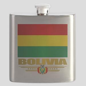 Flag of Bolivia Flask