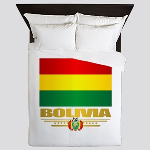 Flag of Bolivia Queen Duvet