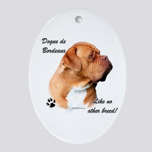 Dogue Breed Oval Ornament