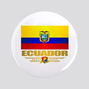 "Flag of Ecuador 3.5"" Button"