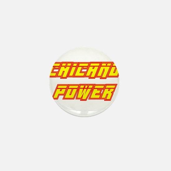 Chicano Power Streak Mini Button