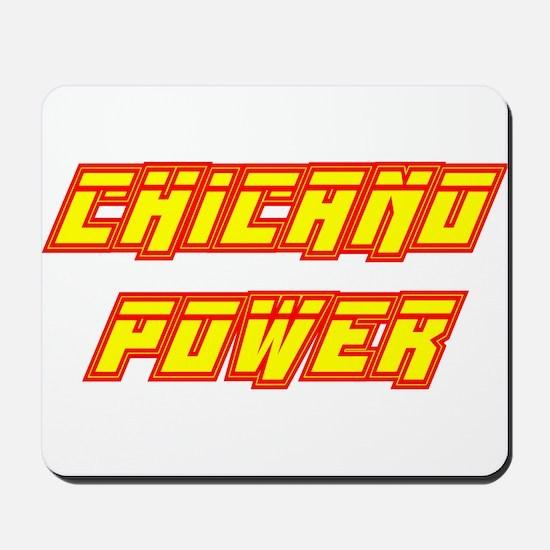 Chicano Power Streak Mousepad
