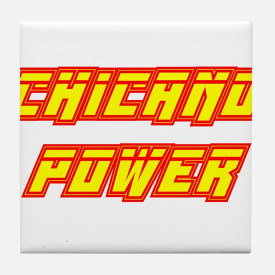 Chicano Power Streak Tile Coaster