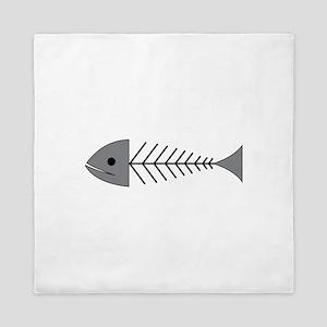 X-Ray Fish Queen Duvet