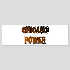 Chicano Power AdLib Bumper Sticker