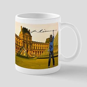 Paris Louvre Je Taime Mugs