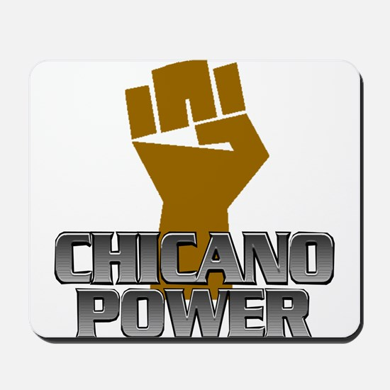 Chicano Power Fist Mousepad