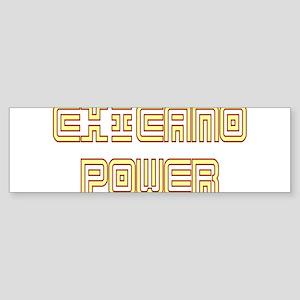 Chicano Power Undercover Bumper Sticker