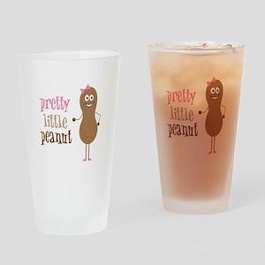 Pretty Little Peanut Drinking Glass