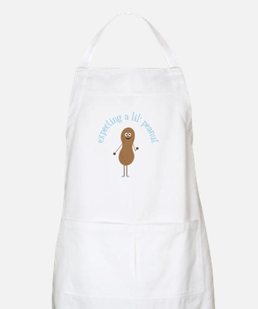Expecting A Lil' Peanut Apron