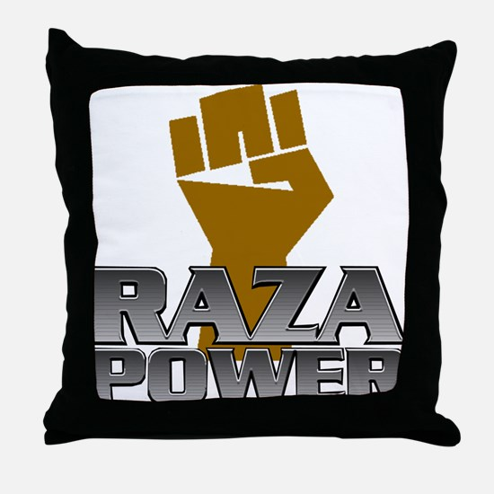 Raza Power Fist Throw Pillow