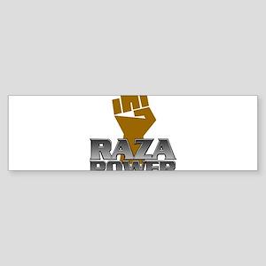 Raza Power Fist Bumper Sticker