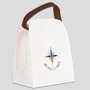 Adventurous Canvas Lunch Bag
