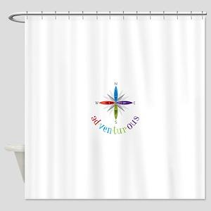 Adventurous Shower Curtain