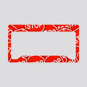 Stop Signs License Plate Holder