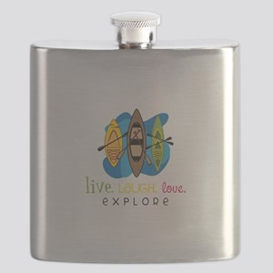 Live Laugh Love Explore Flask
