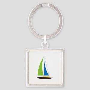 Sailing Boat Keychains