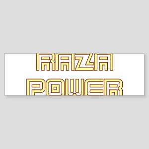 Raza Power Undercover Bumper Sticker