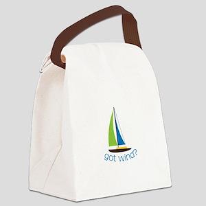 Got Wind? Canvas Lunch Bag