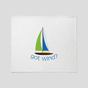 Got Wind? Throw Blanket