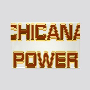 Chicana Power Trekker Rectangle Magnet