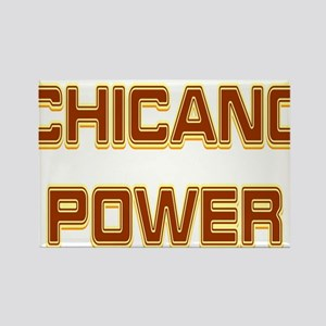 Chicano Power Trekker Rectangle Magnet