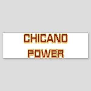 Chicano Power Trekker Bumper Sticker