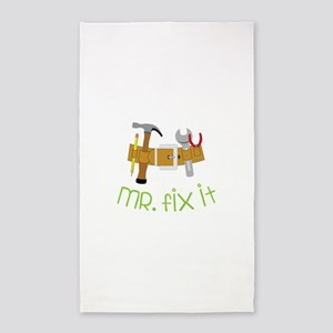 Mr Fix It 3'x5' Area Rug
