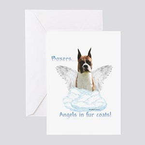 Boxer Angel Greeting Cards (Pk of 10)