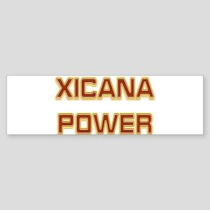 Xicana Power Trekker Bumper Sticker