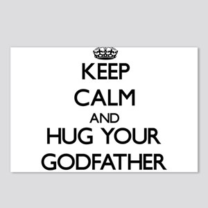 Keep Calm and Hug your Godfather Postcards (Packag