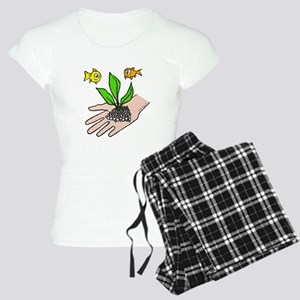 I Care For My Fish Women's Light Pajamas